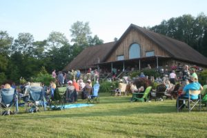 Buttonwood Grove Winery live music on the lawn and deck